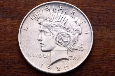 USA Peace Silver Dollar