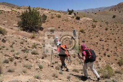 Vallée du M'Goun Atlas Maroc pays Berbère