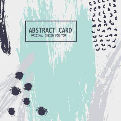Wall mural Vector abstract card