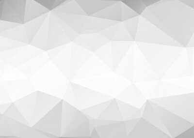 Wall mural Vector abstract gray triangles background