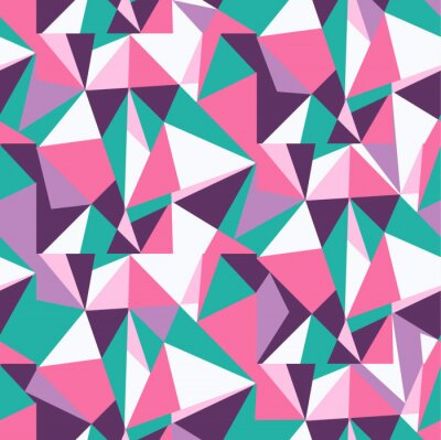 Wall mural vector, background triangles