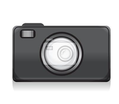vector camera icon for design