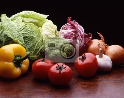 Wall mural vegetables