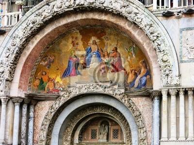 Venice Basilica Mosaic Painting