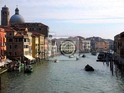 Venice Canal Boats Italy