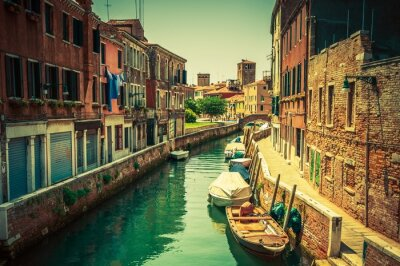 Wall mural Venice Canal Place