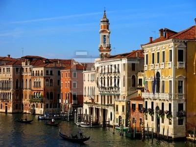 Venice Gondola Canal Italy