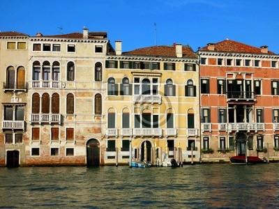 Venice Houses Canal Italy