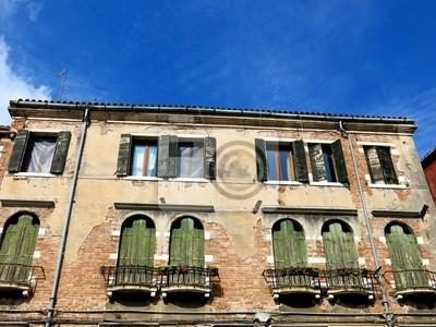 Venice Old House Italy