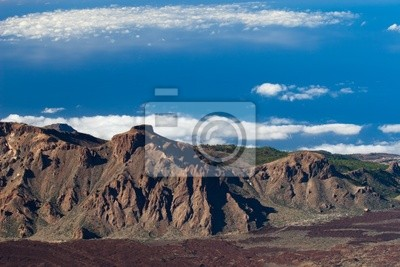 View from pico del Teide, Tenerife