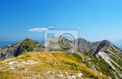 View from the top of the mount Rodica on Triglav National Park - Julian Alps, Slovenia