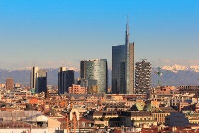 Wall mural Views of Milan, Italy
