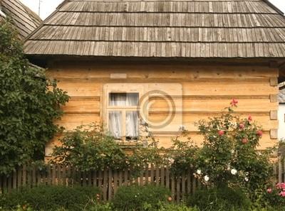 Village wooden architecture