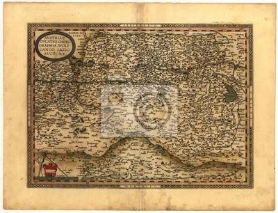 vintage map