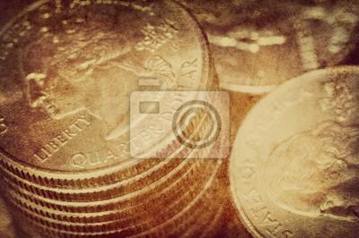 vintage US dollar background