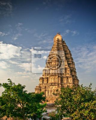 Virupaksha temple in hampi india