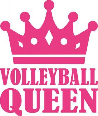 Wall mural Volleyball queen