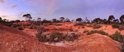 Wall mural WA Balladonia Red Soil 2 Panorama