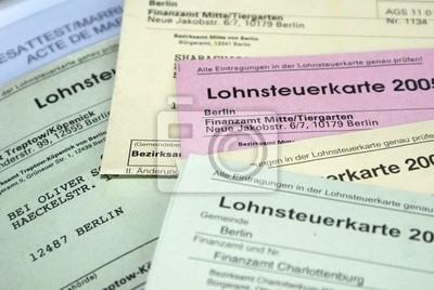 wage tax card