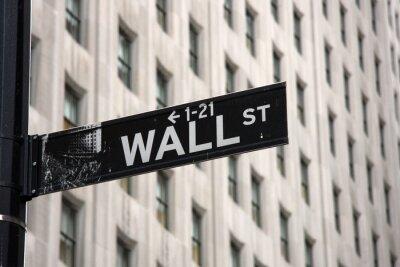 Wall mural Wall Street