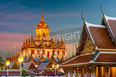 Wall mural Wat Ratchanatdaram