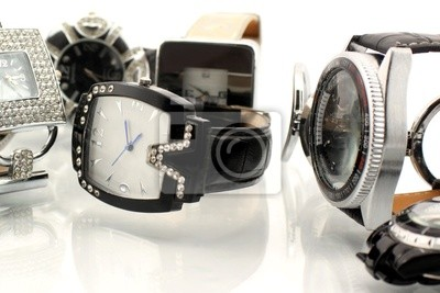 Wall mural watches