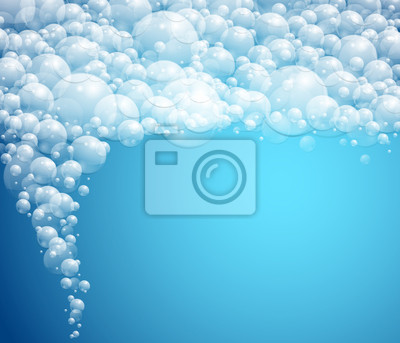 Wall mural water background