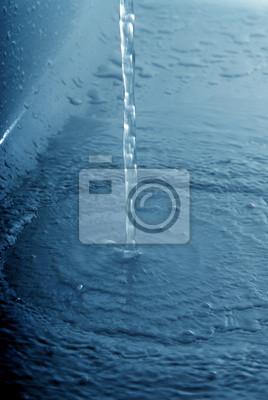 water flow down