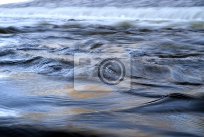 water level - photo by long time exposure