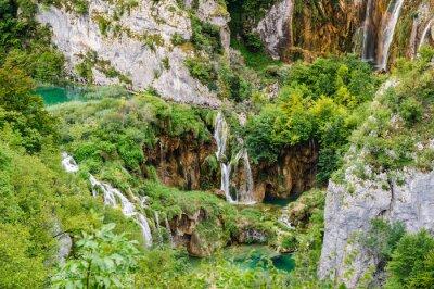 Wall mural Waterfalls in Plitvice Lakes National Park, Croatia