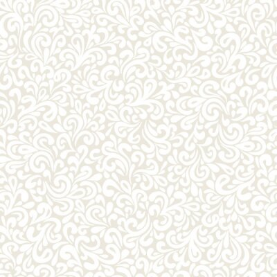 Wall mural Wavy doodle seamless pattern