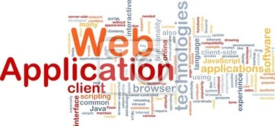 Web application background concept