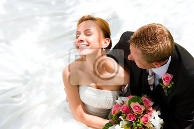 Wedding couple - bride and groom