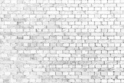 Wall mural Weiße Ziegelmauer