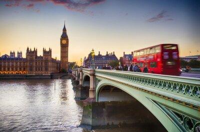Wall mural Westminster Bridge