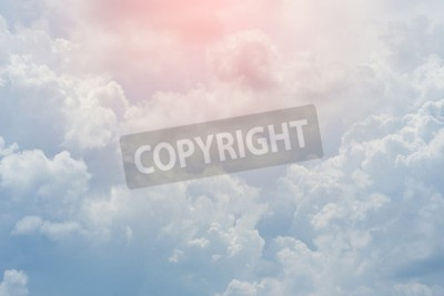 Wall mural white cloud covered sky, cloudy dramatic sky, abstract heaven background