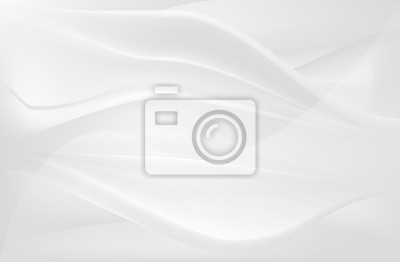 white smooth silk flow abstract background