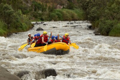 Wall mural Whitewater River Rafting Adventure