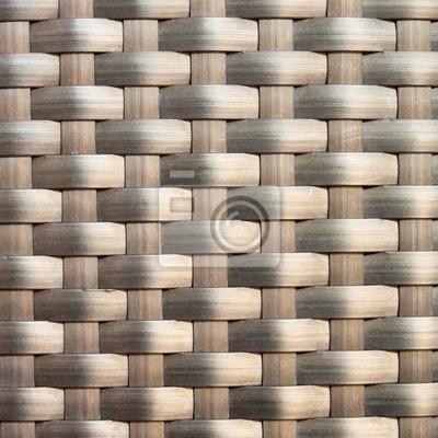 Wall mural wicker texture as background