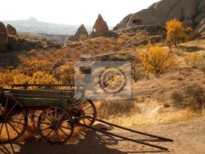 Wall mural Wild West Wagon
