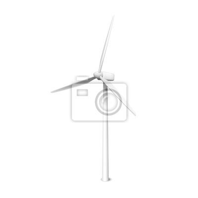 Wall mural windmill