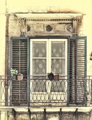 Wall mural Window in Palermo