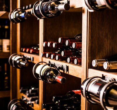 Wall mural Wine cellar