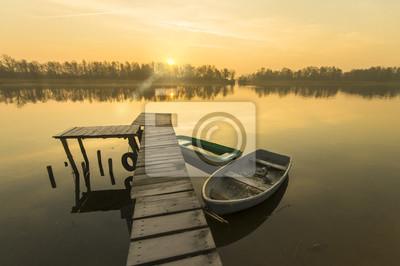 wiosenne jezioro