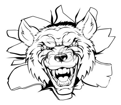 Wolf mascot breakthrough
