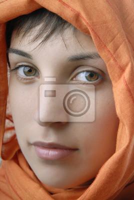 woman veil