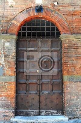 Wall mural Wooden Door