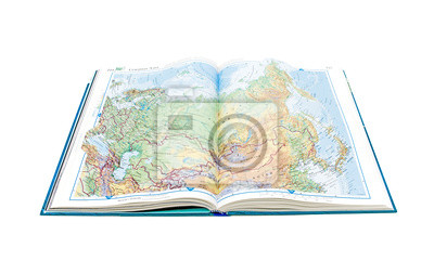 World Atlas. Page opens with the image of Russia.