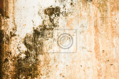Worn messy textured wall