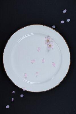 皿,桜,陶器,さくら